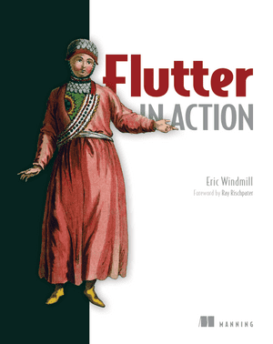 flutter in action book cover